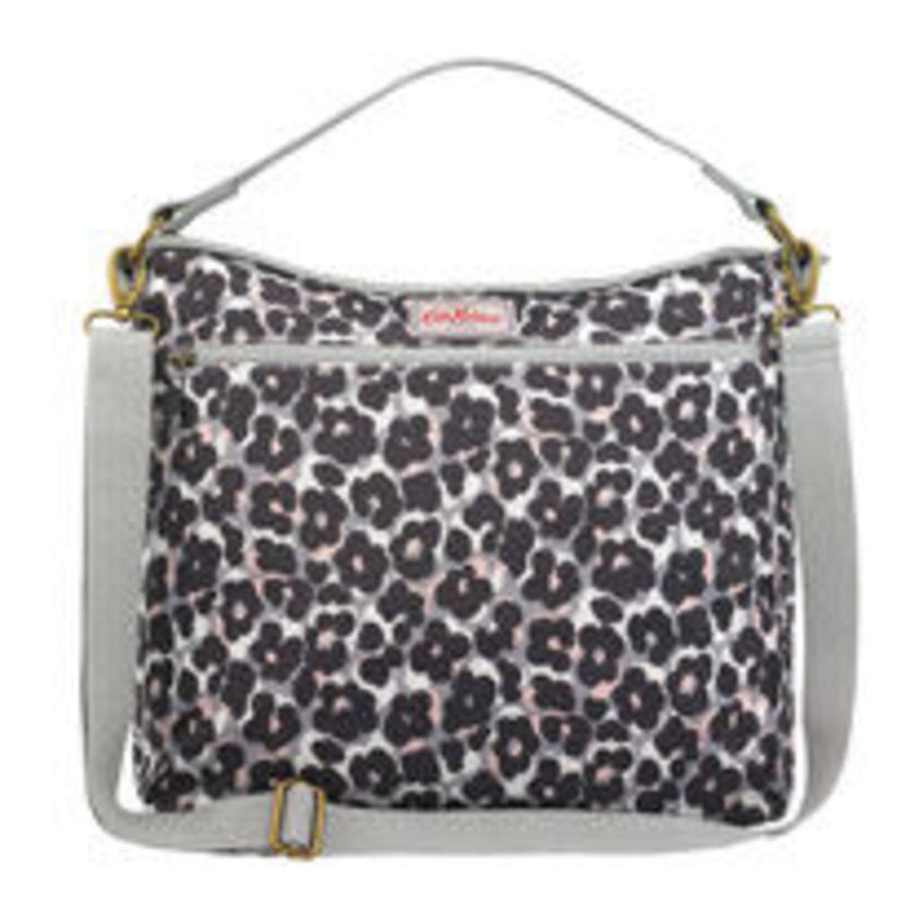 Leopard Flower Tote Changing Bag