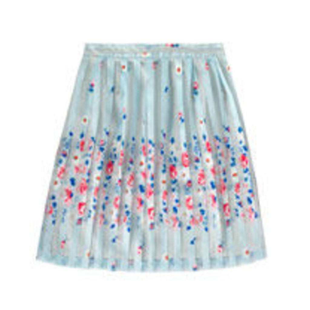 Daisies & Roses Border Skirt