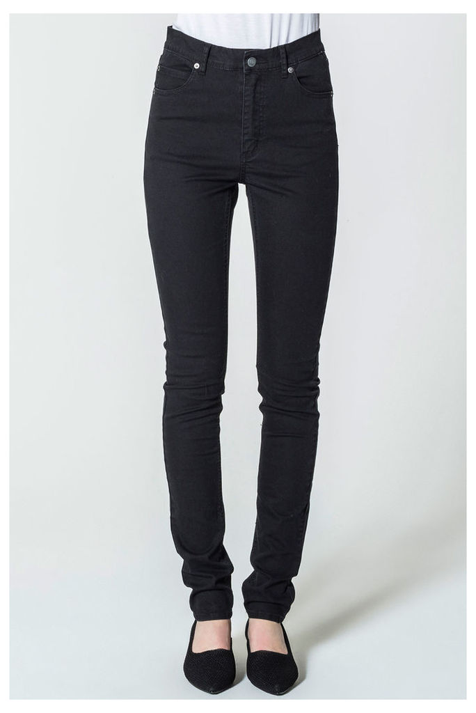 Second Skin Very Stretch Black Jeans