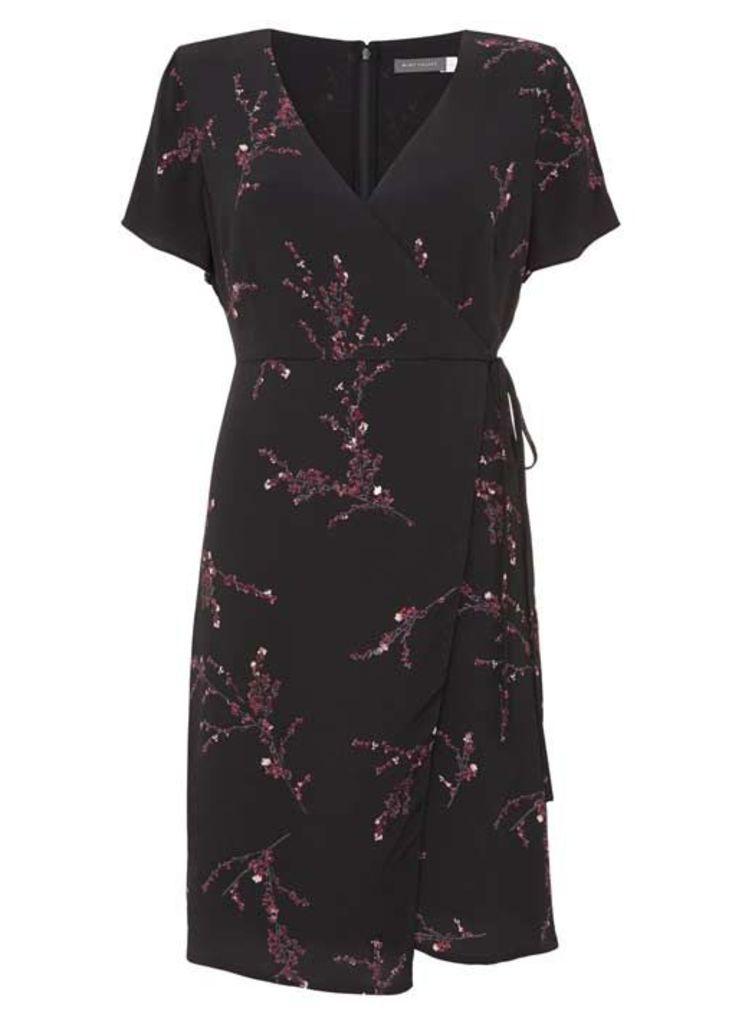 Blossom Print Wrap Dress
