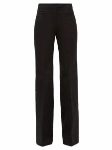 Vita Kin - Dots Embroidered Mid-weight Linen Blouse - Womens - Red White