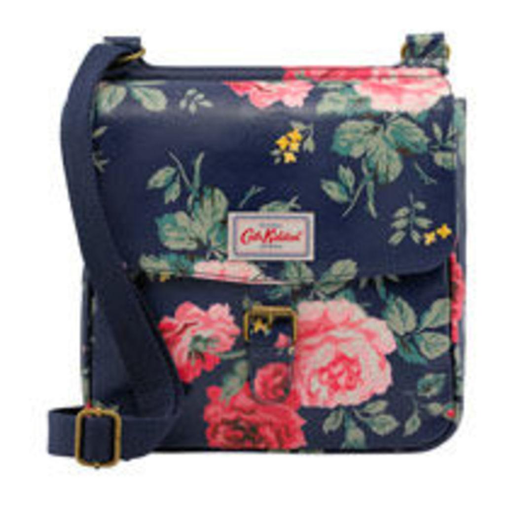 Antique Rose Tab Saddle Bag