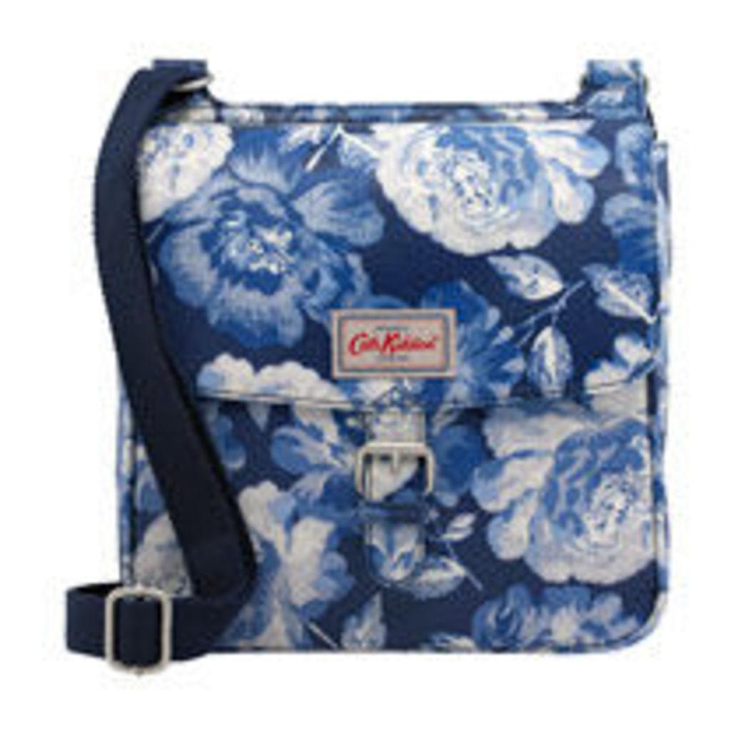 Peony Blossom Tab Saddle Bag