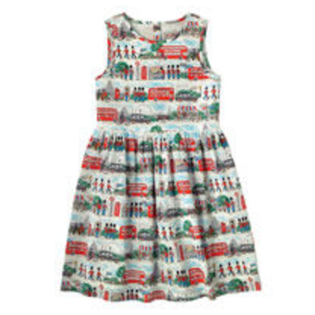 London Streets Sleeveless Dress