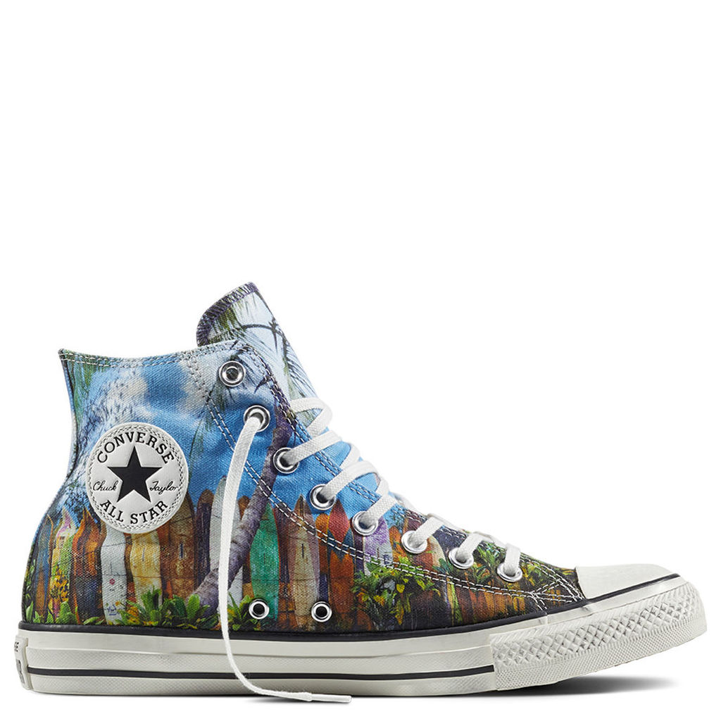 Chuck Taylor All Star Surfboard Print