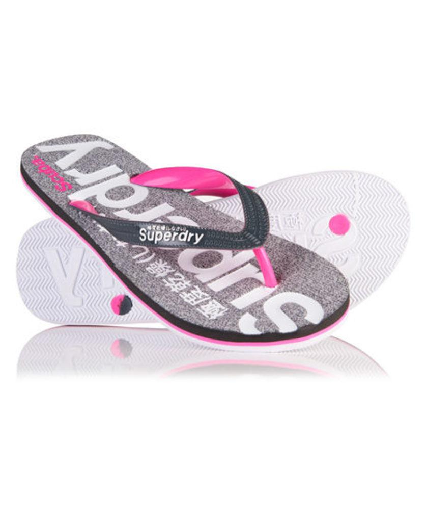 Superdry Scuba Marl Flip Flops