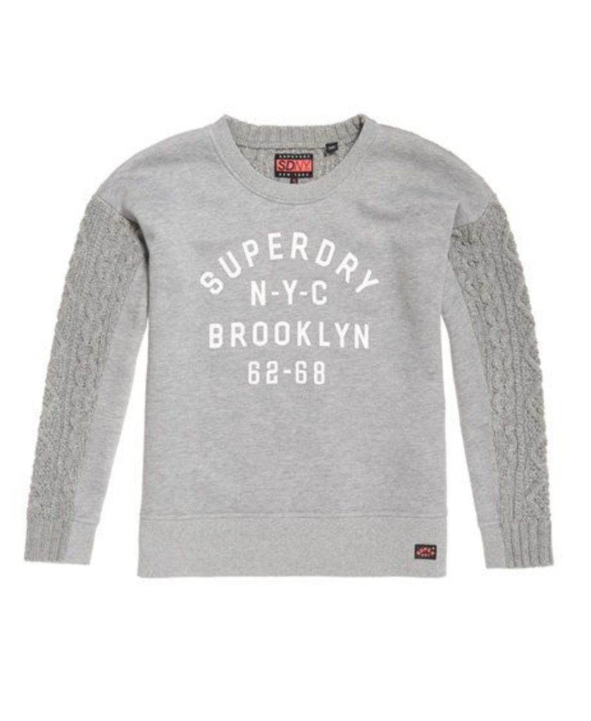 Superdry Fusion-Line Logo Sweater