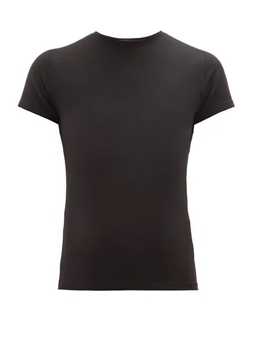 Pressed Flower embroidered mid-weight linen dress