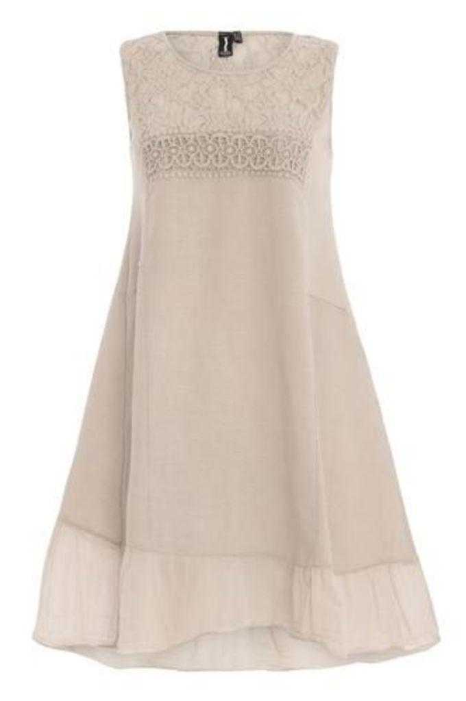 Lace Crochet Detail Dress