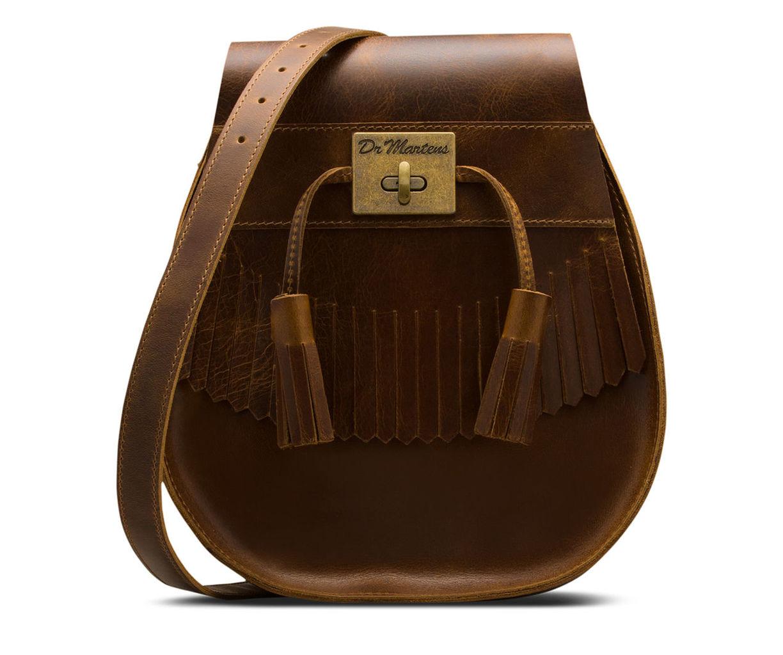Tassled Saddle Bag