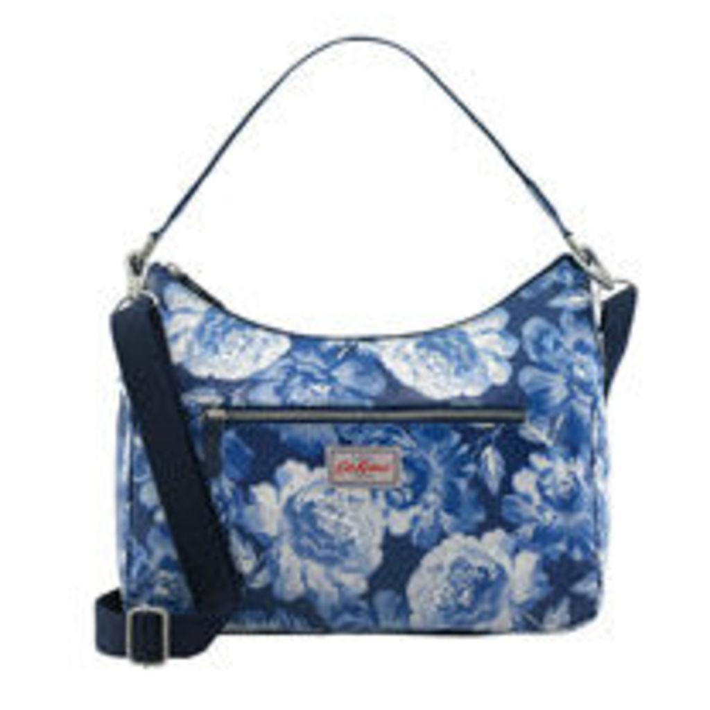 Peony Blossom Curve Shoulder Bag
