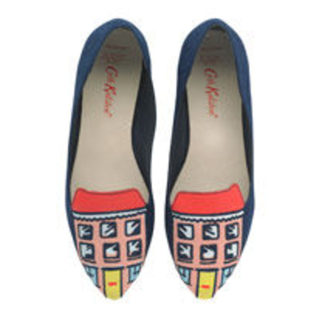 House Embroidered Shoes