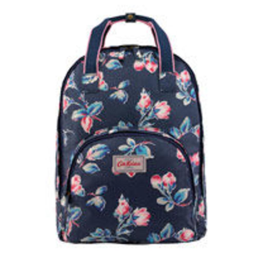 Rosebud Sprig Multi Pocket Backpack