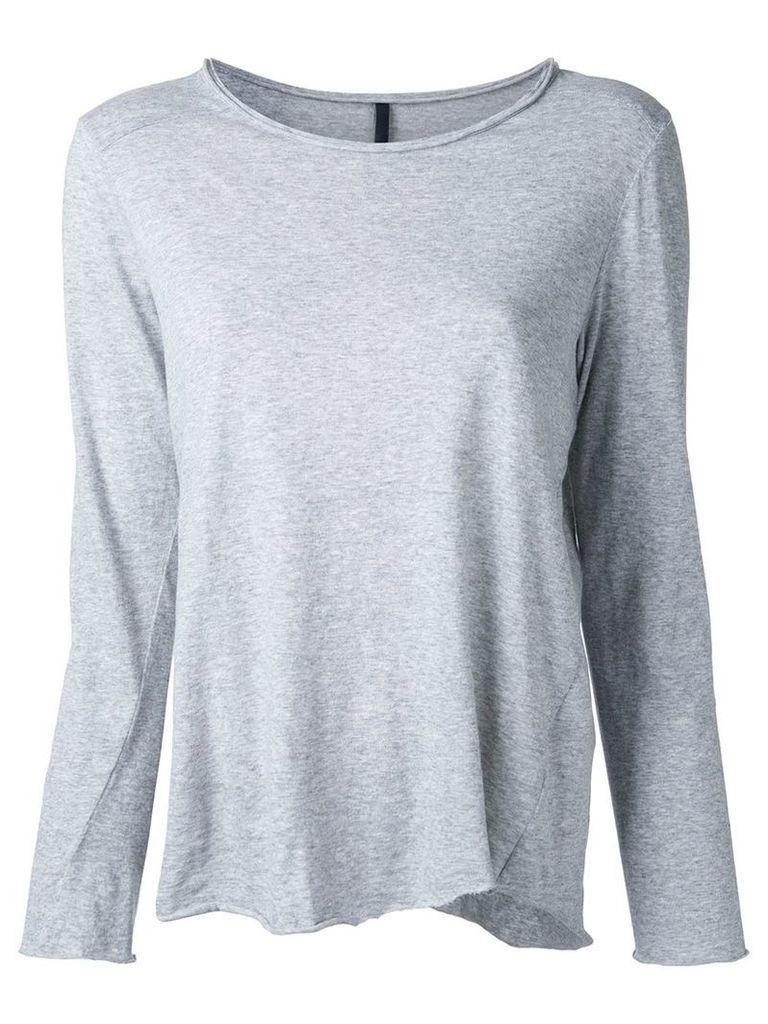 Nobody Denim - Raw Edge Top Heather - women - Organic Cotton - L, Grey