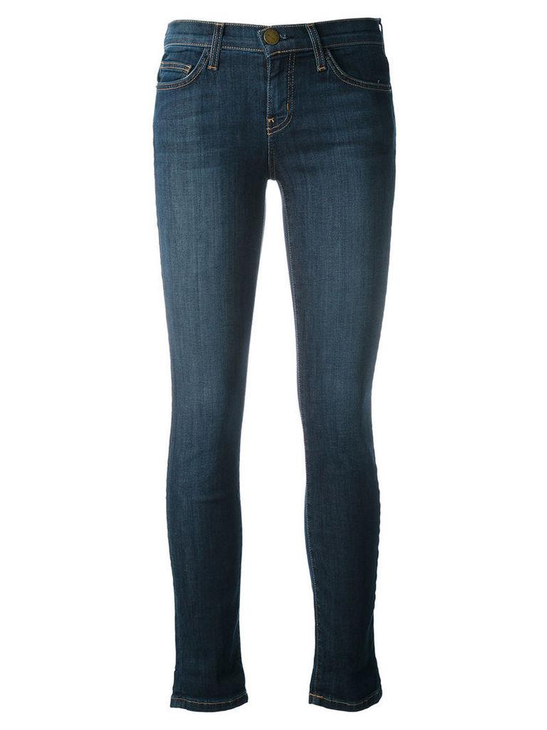Current/Elliott - ankle skinny jeans - women - Cotton/Polyester/Spandex/Elastane - 32, Blue