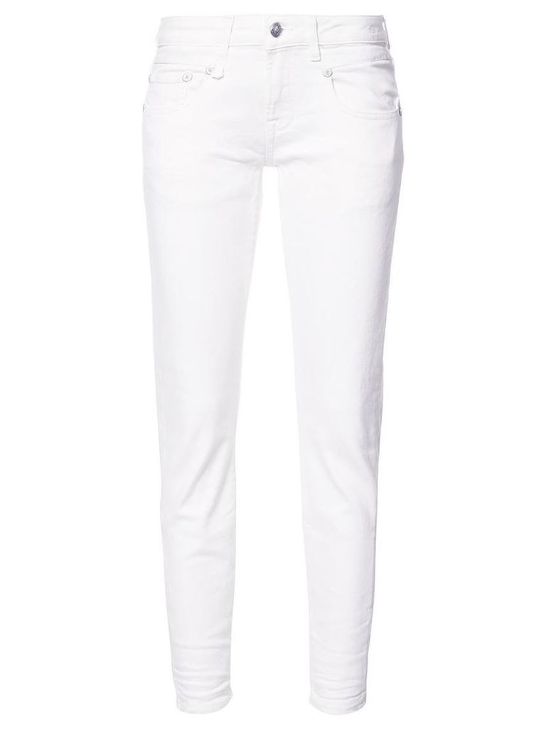 R13 - 'Riot' skinny jeans - women - Cotton/Polyethylene/Spandex/Elastane - 27, White