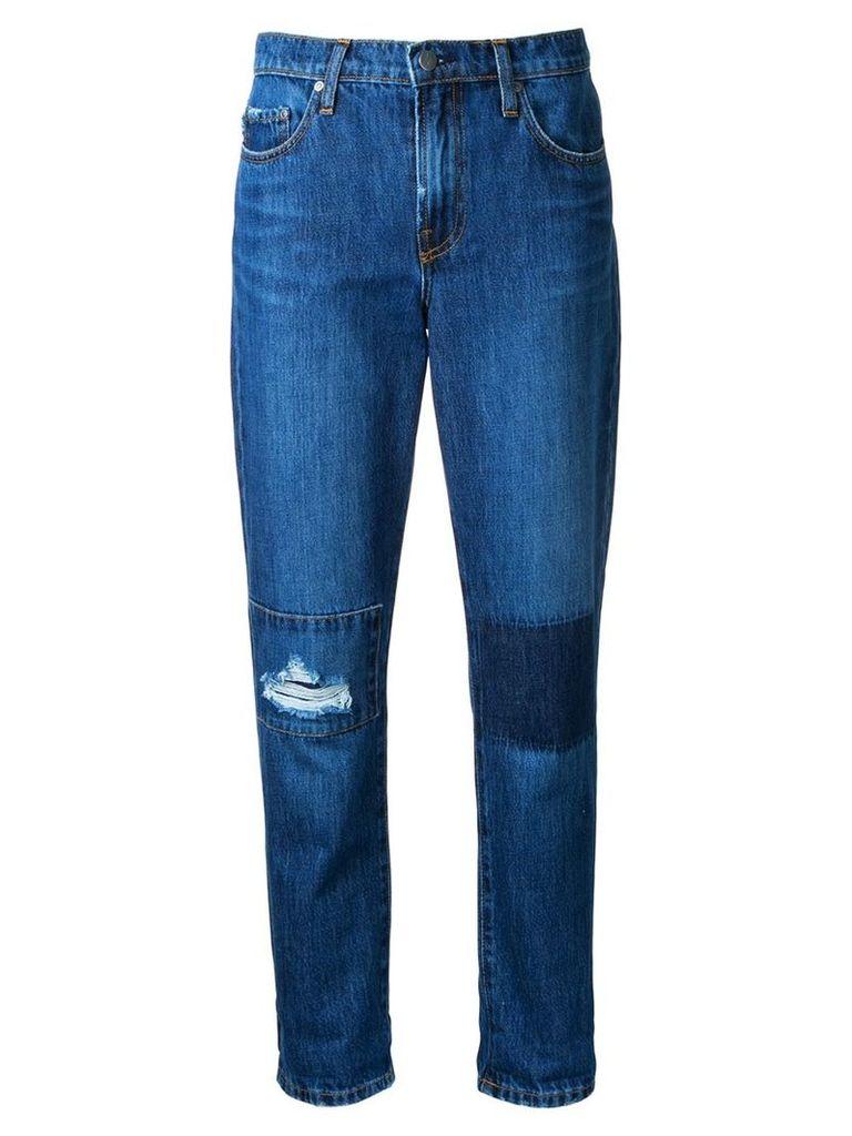 Nobody Denim - Bailey Jean Dk Patch - women - Cotton - 32, Blue