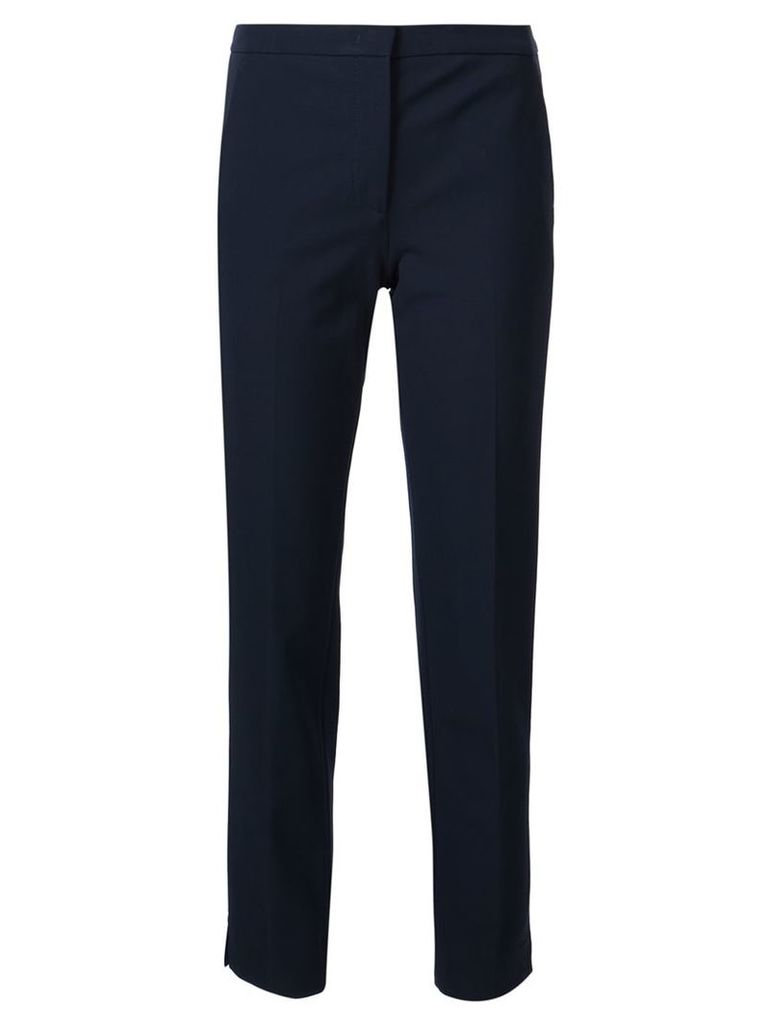 Derek Lam - tailored trousers - women - Polyamide/Spandex/Elastane/Viscose - 40, Blue