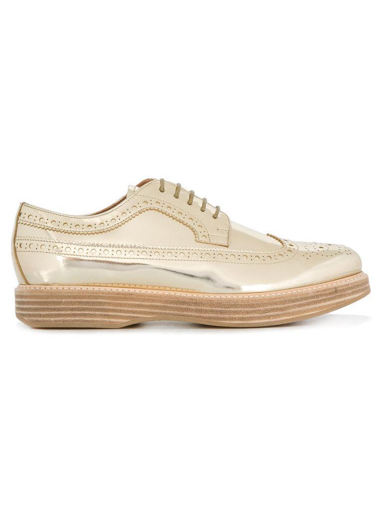 Church's - Allacciata Opal brogue shoes - women - Leather/rubber - 35, Grey
