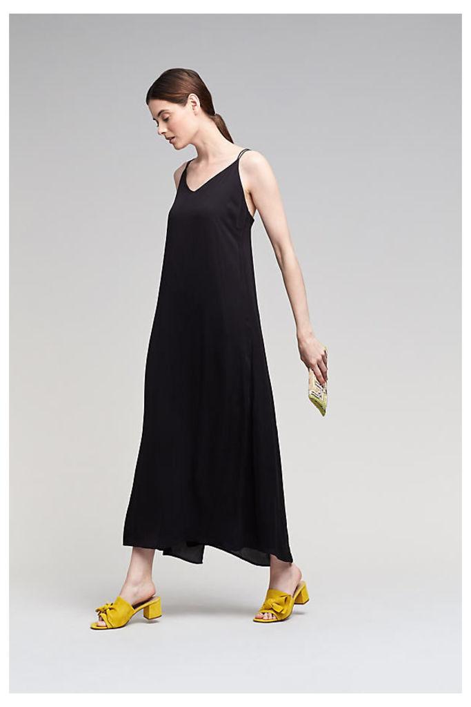 Torence Maxi Dress, Black - Black, Size 14