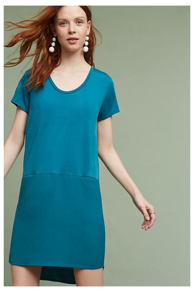 Loren Tunic Dress - Dark Turquoise, Size Xs