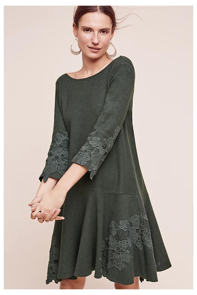 Tierra Lace Dress, Green - Holly, Size Xs
