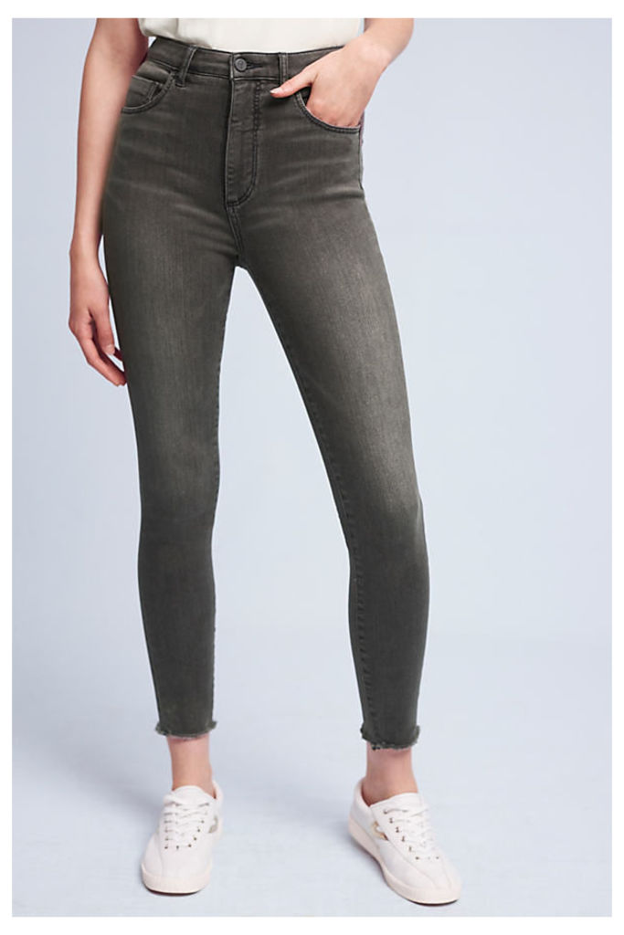 Pilcro Superscript Ultra High-Rise Jeans - Black, Size 25