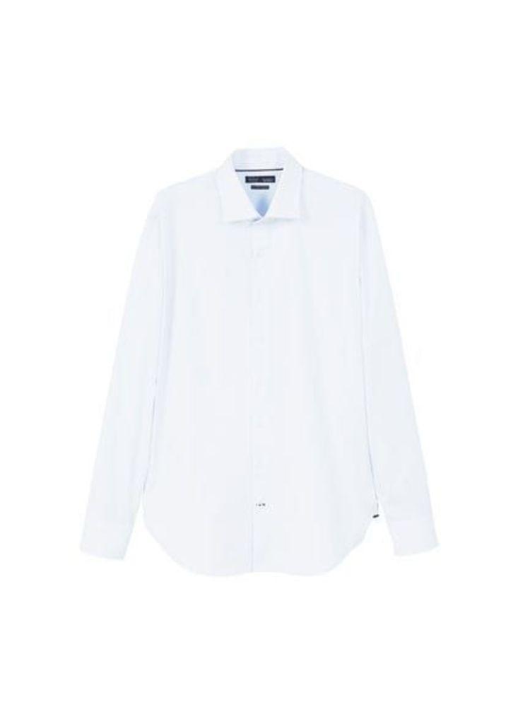 Slim-fit Tailored strech cotton shirt