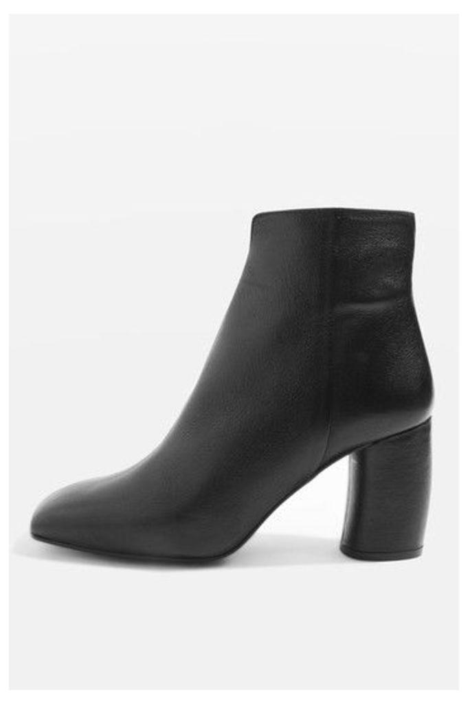 Womens HOBBS Banana Heel Boots - Black, Black