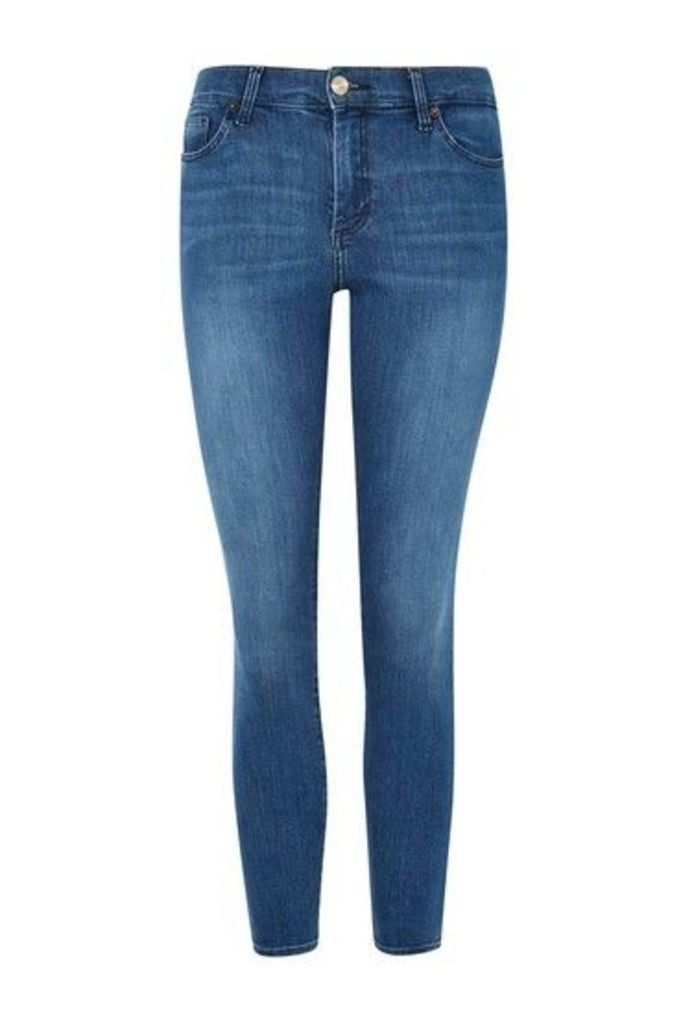 Womens PETITE Indigo Sidney Jeans - Indigo, Indigo