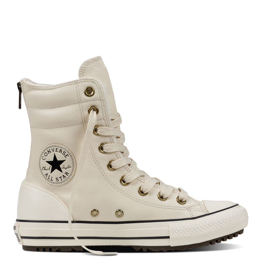 Chuck Taylor All Star High-Rise Leather Boot