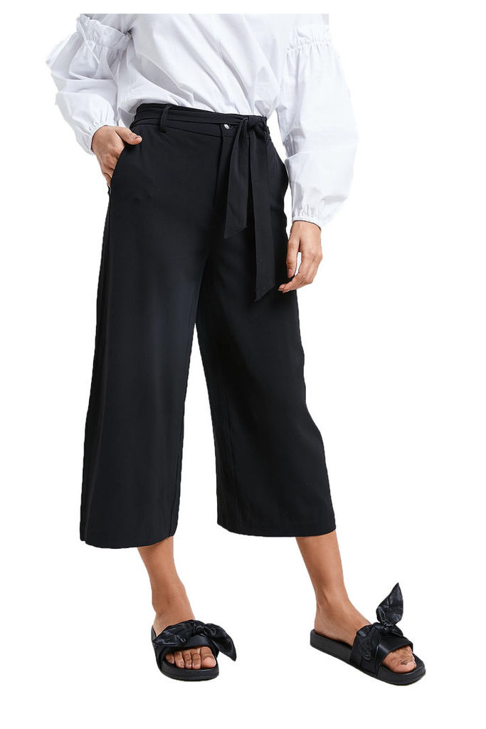 Only Culotte Trousers - Black