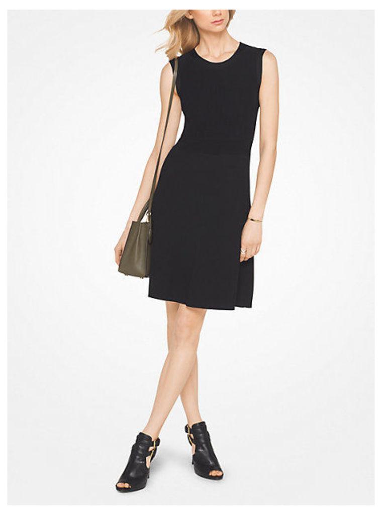 Ribbed Viscose And Nylon Dress