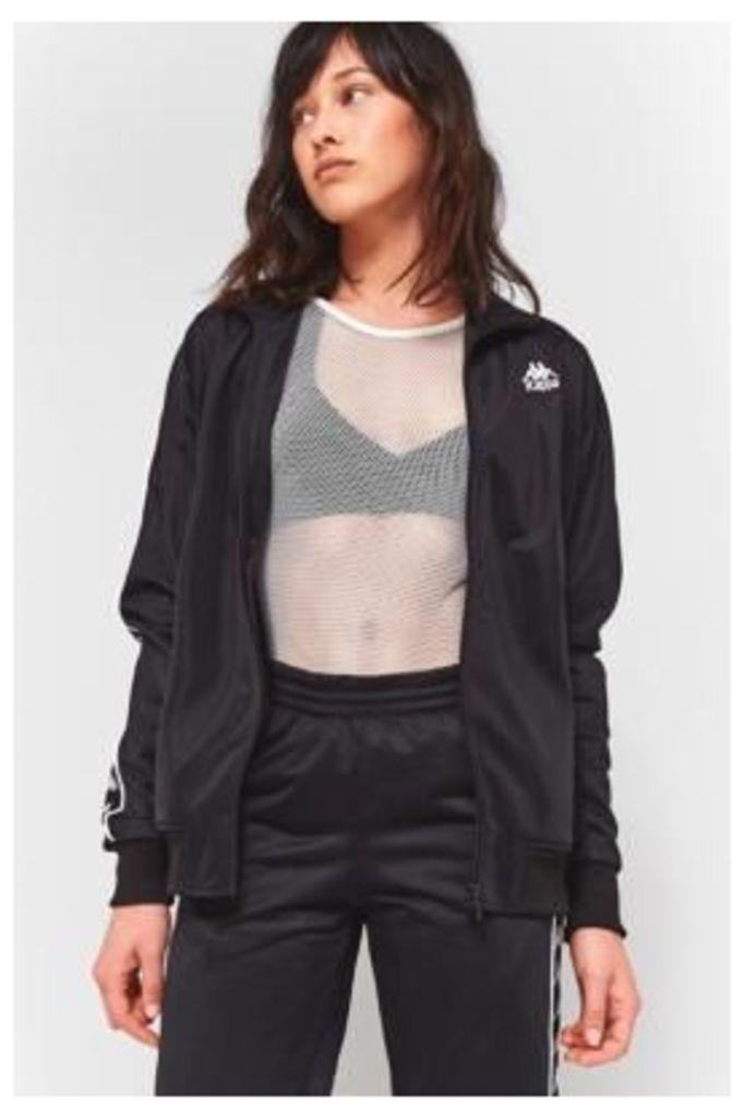 Kappa Authentic Chupa Black And White Track Jacket, BLACK & WHITE