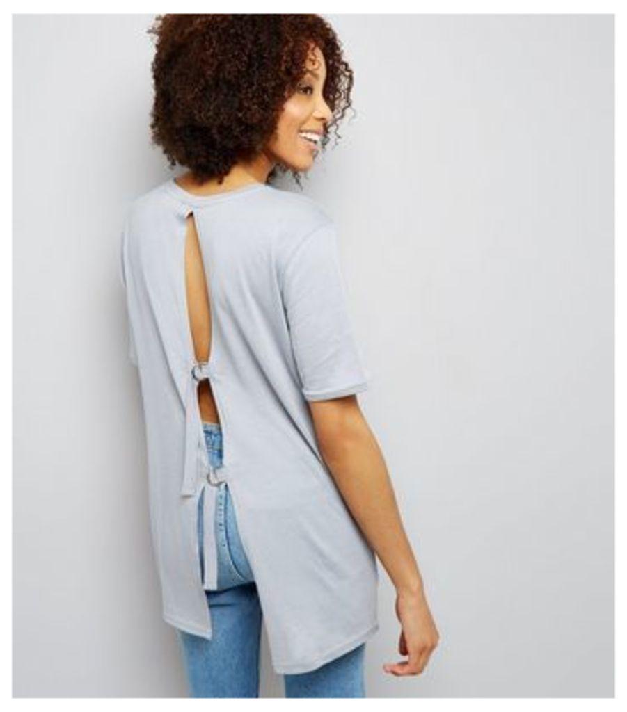 Tall Blue D Ring Back T-Shirt