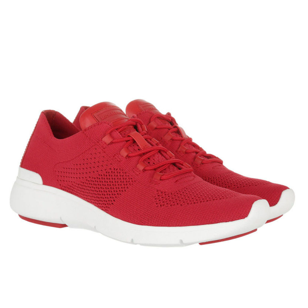 Michael Kors Sneakers - Skyler Trainer Fabric Sneaker Bright Red - in red, white - Sneakers for ladies