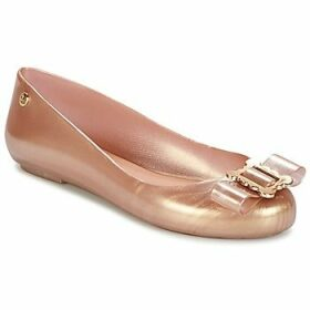 Melissa  VW SPACE LOVE 18 ROSE GOLD BUCKLE  women's Shoes (Pumps / Ballerinas) in Gold