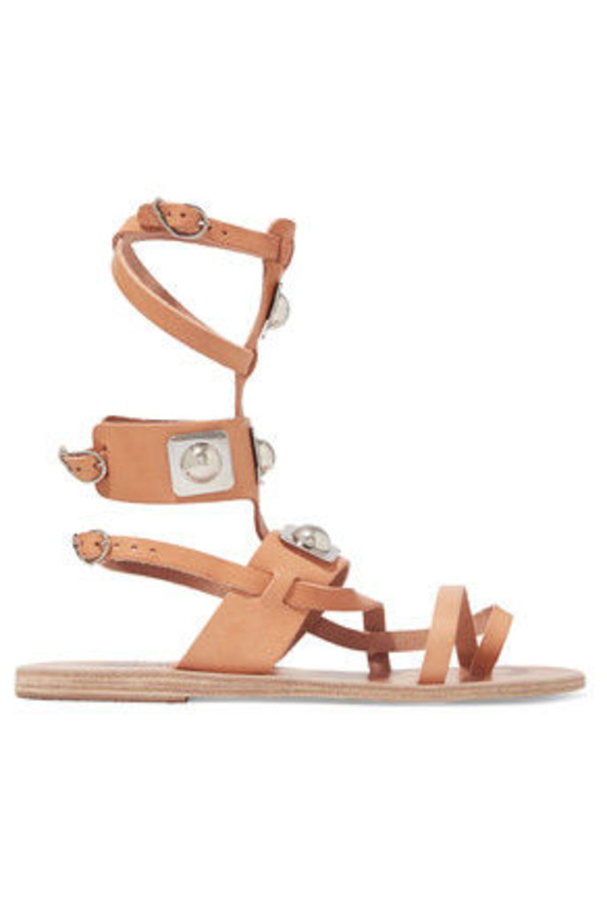 Ancient Greek Sandals - + Peter Pilotto Low Gladiator Printed Leather Sandals - IT40