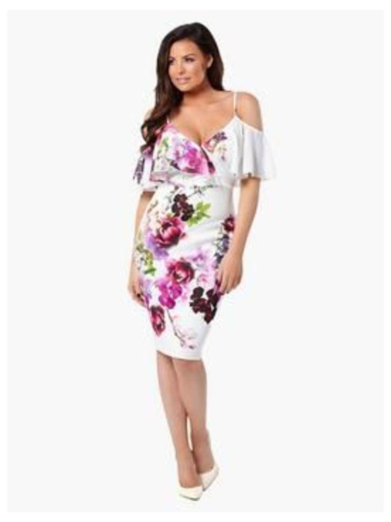 Jessica Wright Avril Floral Bodycon
