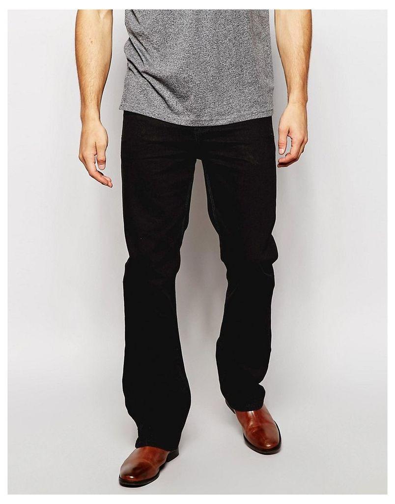 ASOS Bootcut Jeans In Black - Black