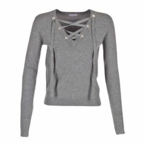Moony Mood  HALER  women's Sweater in Grey