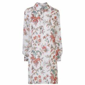 McQ Alexander McQueen Pintuck Shirt Dress