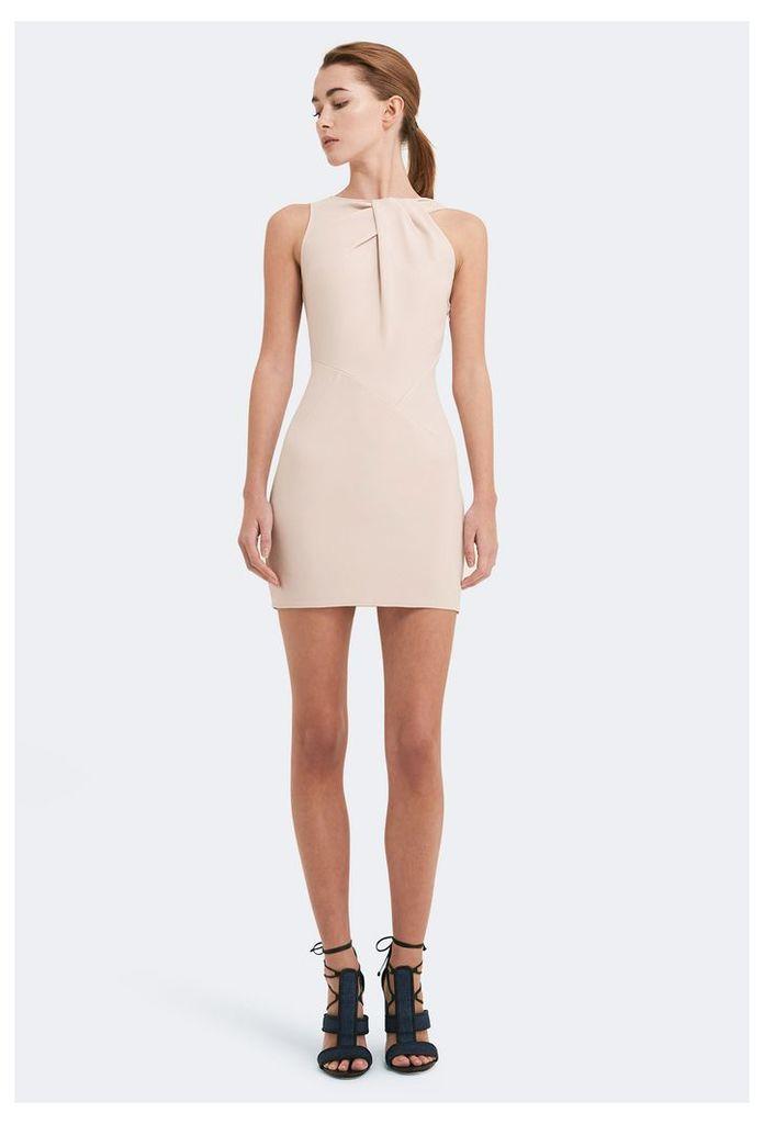 Mina Asymmetric Mini Dress - Sand