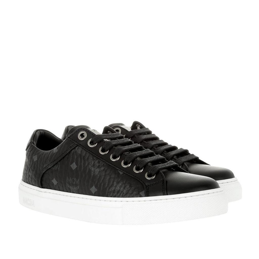MCM Sneakers - W Lace Up Sneakers Black - in black - Sneakers for ladies