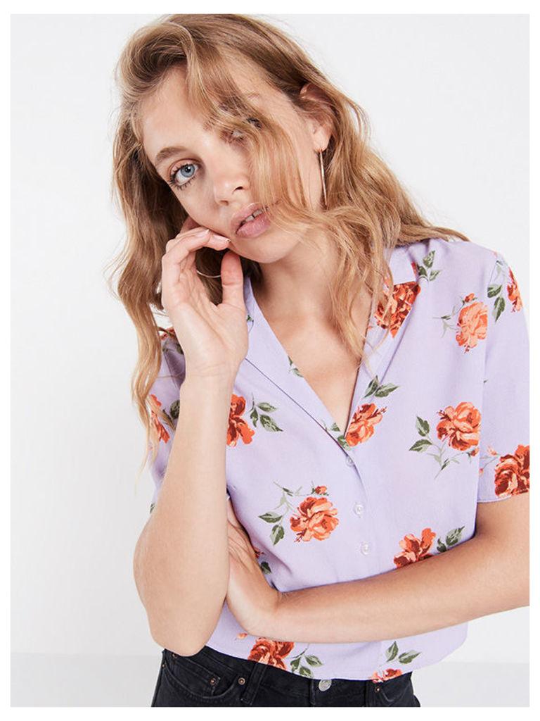 Lilac Lexi Rose Boxy Shirt