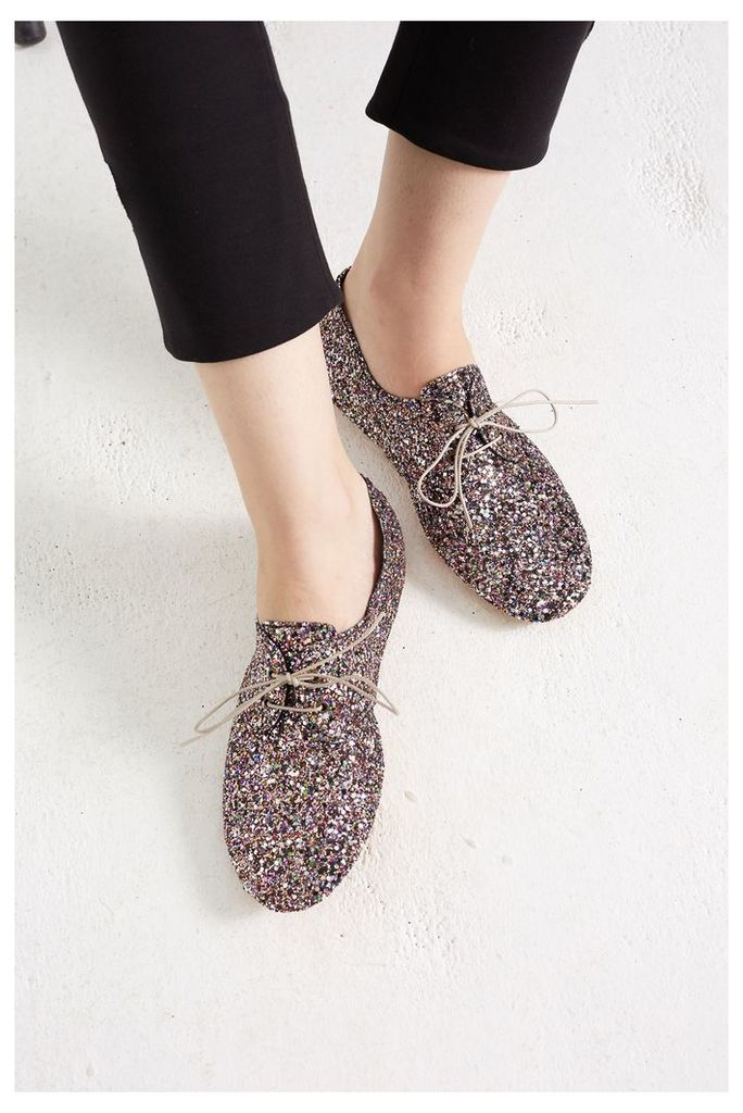 NEW Pink Glitter Anniel Shoes