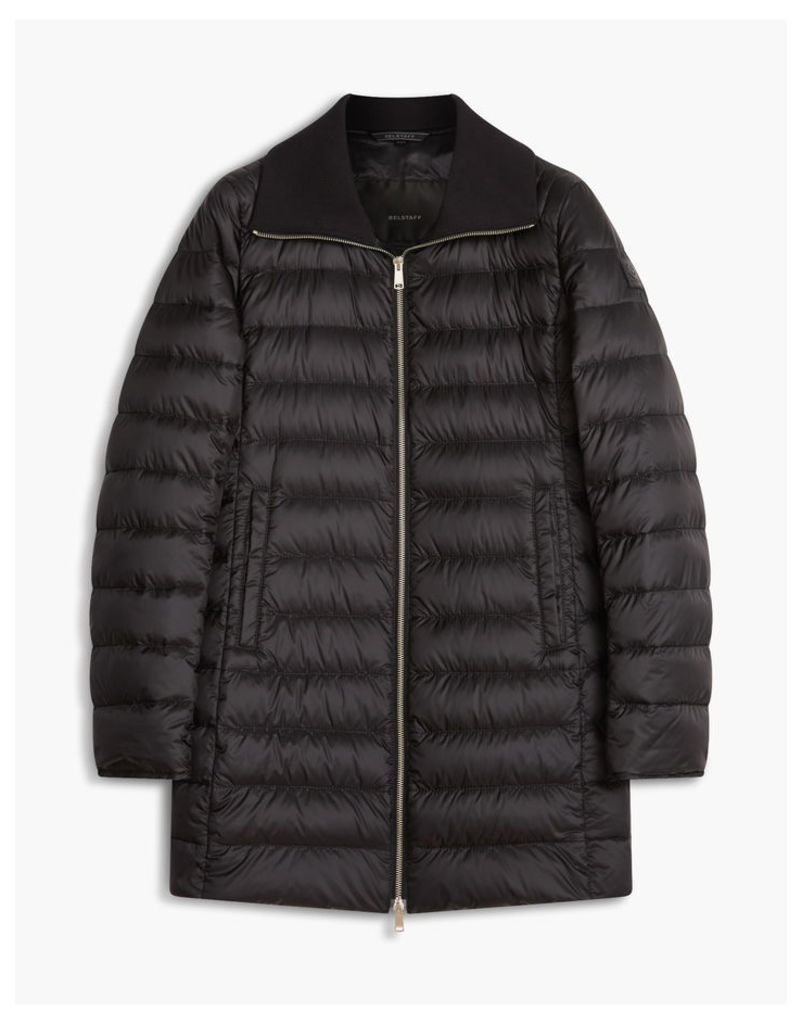 Belstaff Whiston Down Coat Woman Black