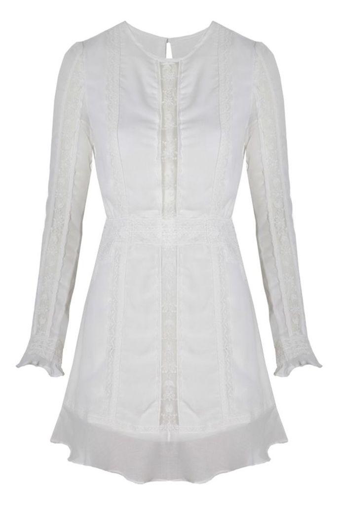 Amorie Mini Dress Ivory