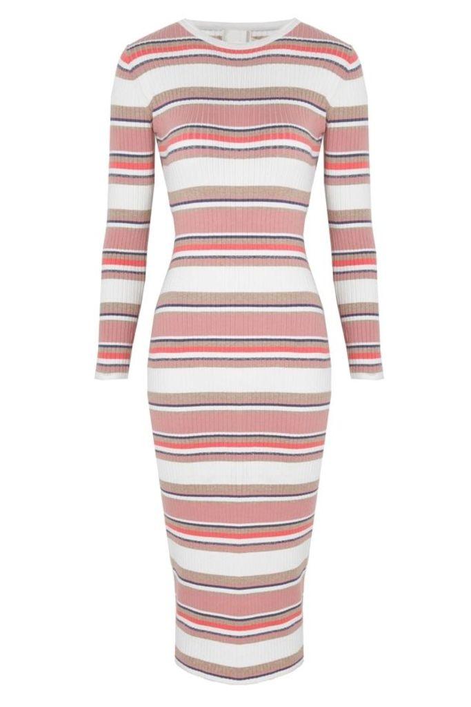 Levi Midi Dress Stripe