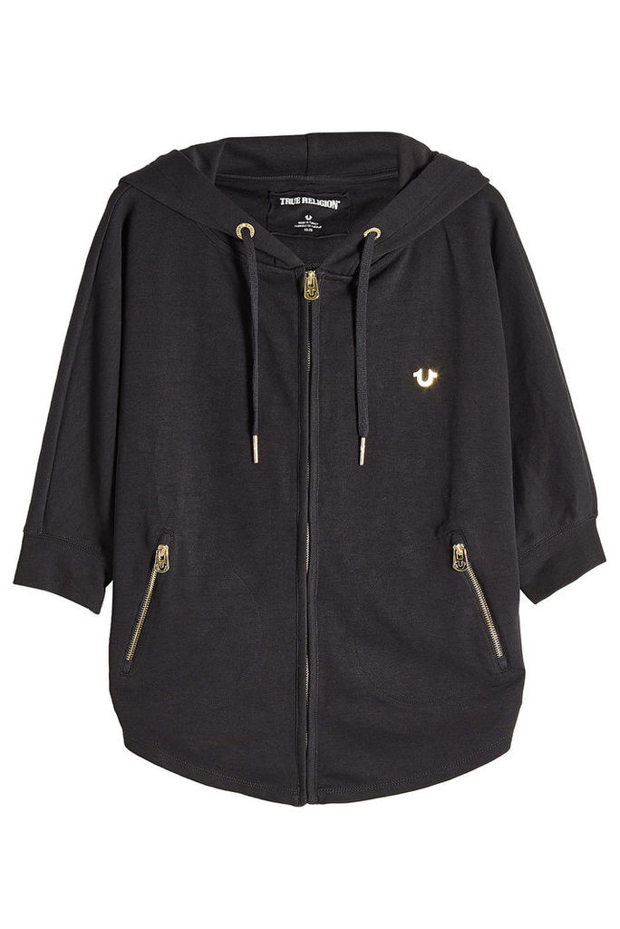 True Religion Zipped Jacket with Hood
